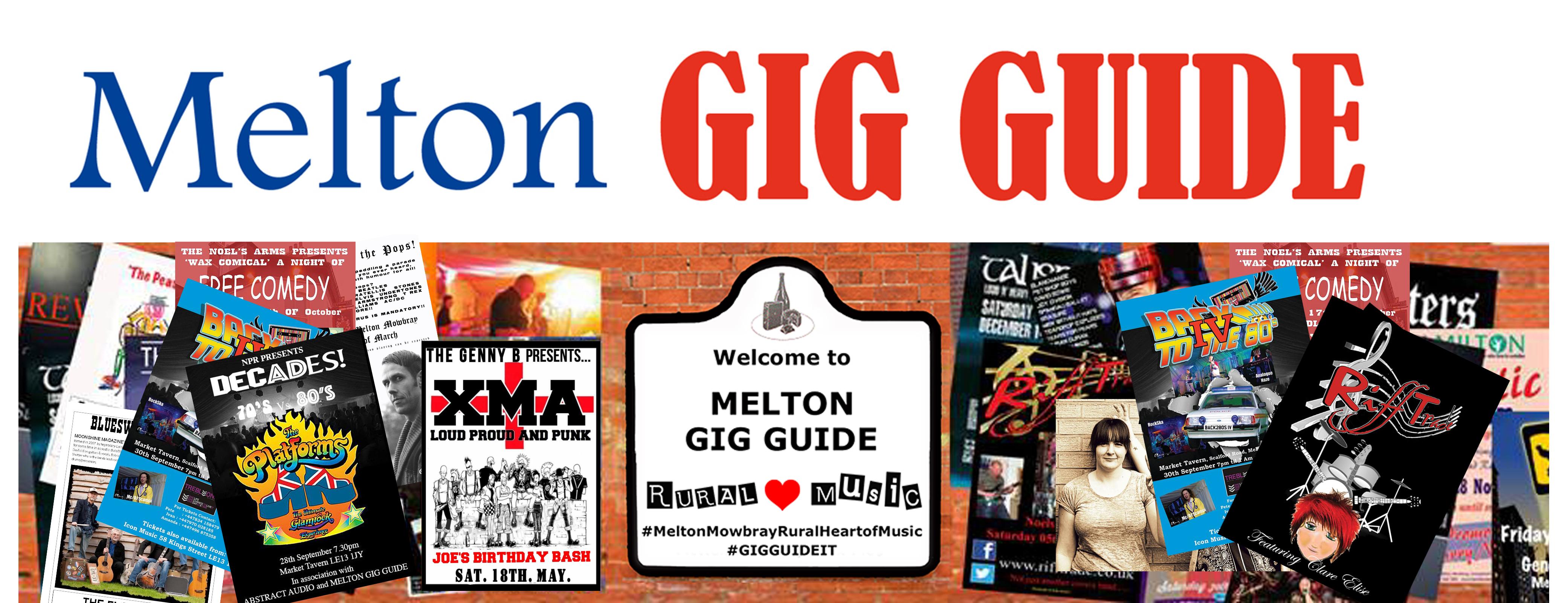 Melton Gig Guide Banner 2019